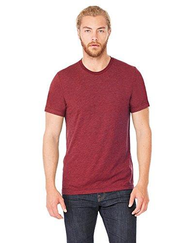 Bella+Canvas Perfect Tri-Blend Fashionable T-Shirt, XX-Large, Cardinal - Blend Cardinals Tri