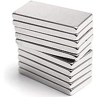 5 Adet 20x10x3 Süper Güçlü Neodyum Mıknatıs Magnet - ÜCRETSİZ KARGO