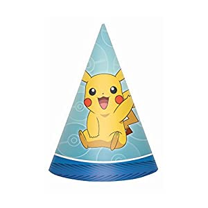 American Greetings Pokemon Pokémon 2 Party Hats, 8-Count