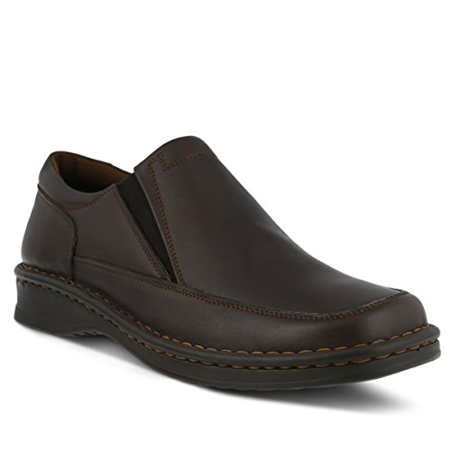 Primavera Step Mens Enzo Mocassino Marrone