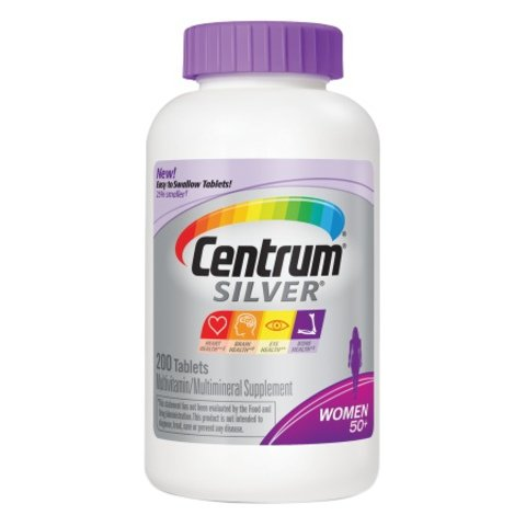 Centrum Silver, For Women 50 plus 750 Count ,Centrum-gr Review