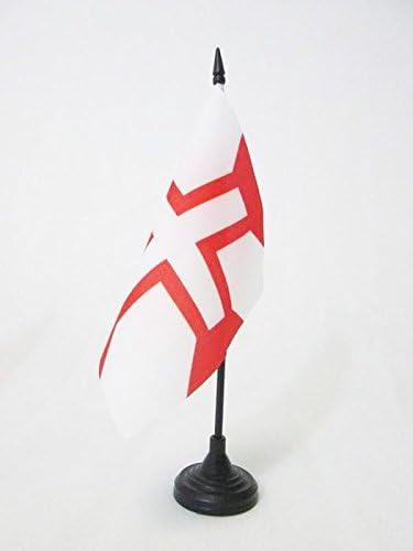 AZ FLAG Bandera de Mesa de la Orden DE Cristo 15x15cm - BANDERINA de DESPACHO Ejercito DE Francia 15 x 15 cm: Amazon.es: Jardín
