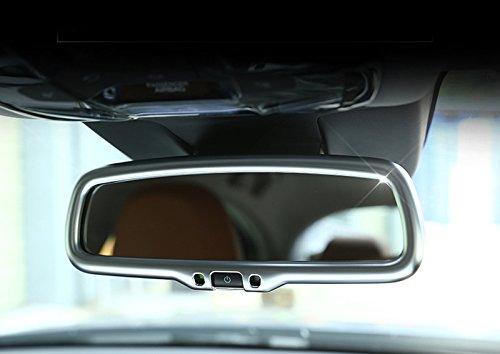 ABS mat Int/érieur R/étroviseur Cadre Coque Trim 1/PC pour accessoire Auto Afga17