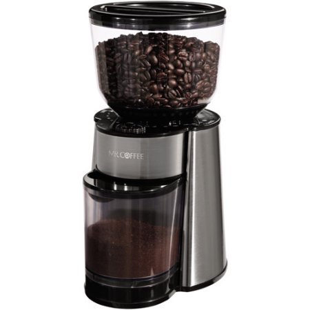 Mr. Coffee Automatic Burr Mill Grinder BVMC-BMH23-WM Great For French Press And Espresso Too! (1)