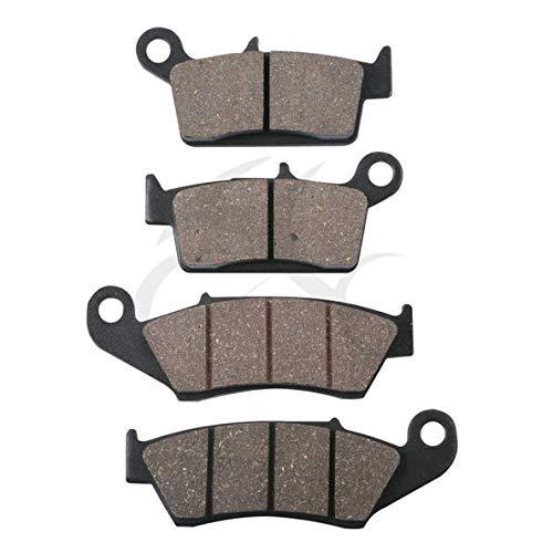 (Sala-Ctr - Front Rear Brake Pads For SUZUKI RM 125 250 RM125 RM250 DR-Z 400 DRZ400 DR 650 KAWASAKI KX125 KX250 For HONDA XR400 XR400R XR440)