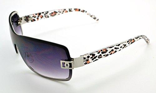 qualité femme Vox Hot classique Mode Silver Lunettes de étui Frame W Smoke haute soleil pour microfibre gratuit Gray Lens tendance q1x1trS