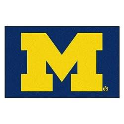 Fanmats Ncaa University Of Michigan Wolverines Nylon Face Ultimat Rug