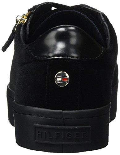 2z Hilfiger Ginnastica Scarpe Black Donna J1285upiter da Tommy Nero 990 Basse SnapqxSw