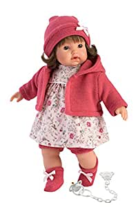 Llorens 33330 Aysel - Muñeca (33 cm), color beige: Amazon.es ...