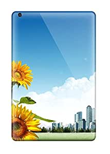 New Style Sunflower City Feeling Ipad Mini On Your Style Birthday Gift Cover Case