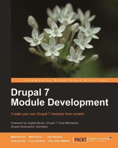 Drupal 7 Module Development (English Edition)