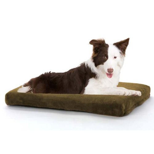 JLA Pets Orthopedic Napper 29 by 39-Inch Dog Bed, Chocolate, My Pet Supplies