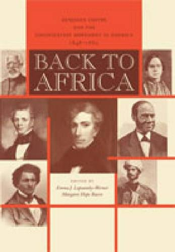 Back to Africa: Benjamin Coates and the Colonization Movement in America, 1848-1880