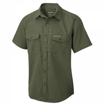 Craghoppers Herren Outdoor Reise Kiwi Kurzarm Hemd