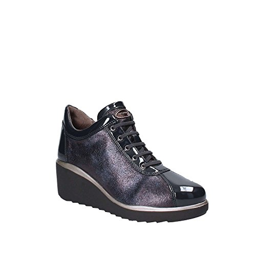 Stonefly Bleu Chaussures lacets Femmes 109288 ZwZpqH