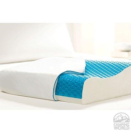 Comfort Revolution Memory Foam & Hydraluxe Cooling Contour Pillow Cooling gel by Comfort Revolution