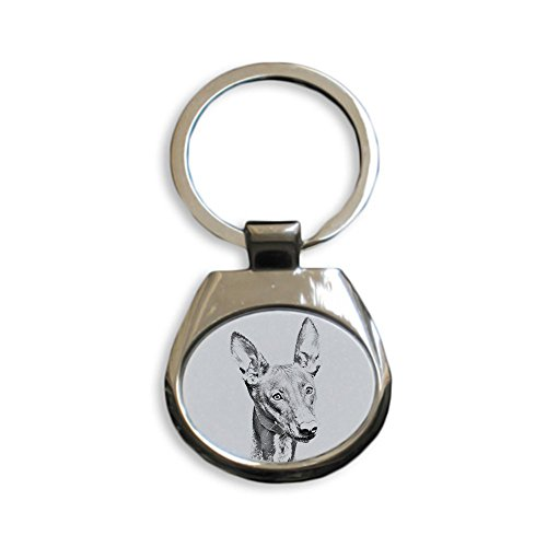 Art Dog Ltd. Pharaoh Hound, New keyrings with Purebred Dogs, Unique Gift, Sublimation