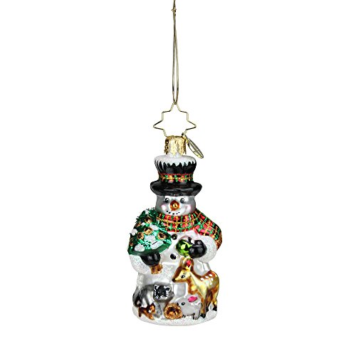 Christopher Deer Radko (Christopher Radko Feast for Friends Little Gem Christmas Ornament #1018746)