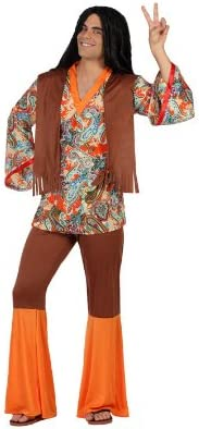 Atosa-22867 Disfraz Hippie, color naranja, XS-S (22867): Amazon.es ...