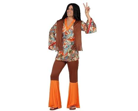 Atosa - 22868 - Traje - Hombre Disfraz Hippie - Adulto - Tamaño 2 ...