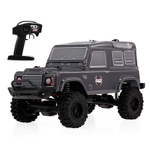 Goolsky ラジコン 車 HSP RGT 136240 1/24 2.4G 4WD 15KM/H RC ロック クローラー オフロード バギー カー 子供 玩具