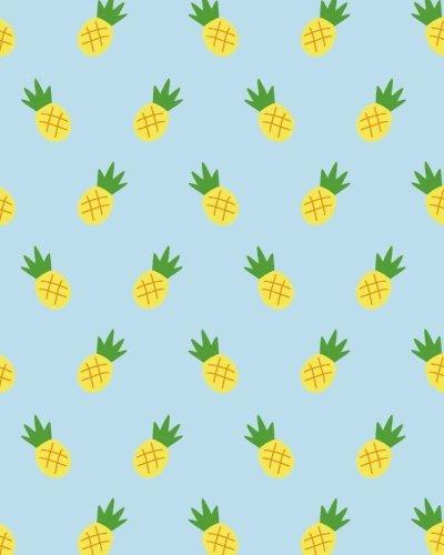 Bullet Journal: Pineapple cover dot grid book