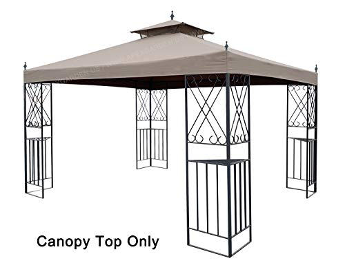 APEX GARDEN Replacement Canopy Top for 10