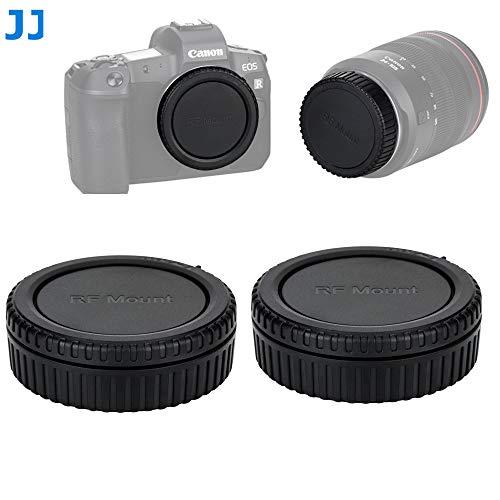 Fotasy Camera Body Cap Rear Lens Cap for Canon EOS R, Canon EOS R RP Body Cap Lens Cap, Replacement of Canon R-F-5 Body Cap RF Rear Lens Cap