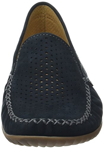Gabor Women's Comfort Mocassins, White Blue (Nightblue (S.natur) 46)