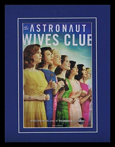Astronaut Wives Club 2015 ABC Framed 11x14 ORIGINAL Advertisement Joanna Garcia