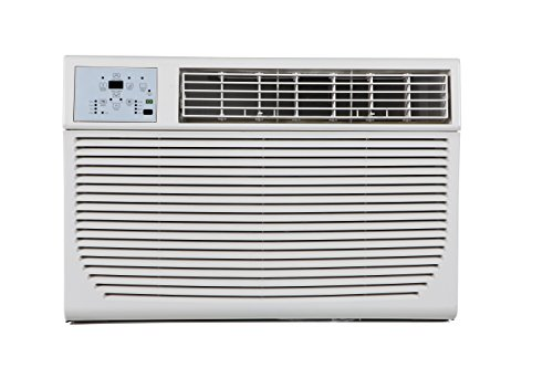 Impecca 14,000 BTU 230V Electronic Controlled Through The Wall Air Conditioner with Remote, h, 6-15P/220