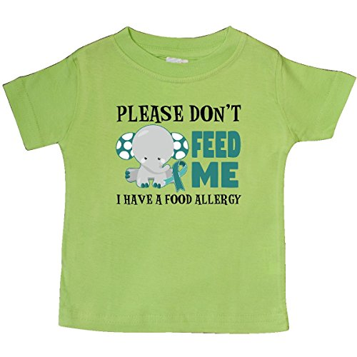 inktastic - Please Dont Feed Me I Have a Baby T-Shirt 12 Months Key Lime 29dc0