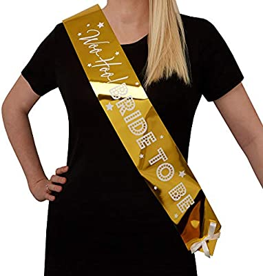 Neviti 776193 Woo Hoo Hen Do-Bride to Be Sash-Single Pack Fiesta ...
