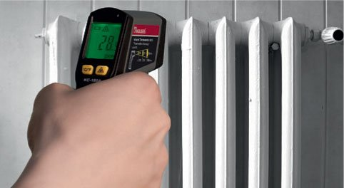 Kaleas Profi Laser Entfernungsmesser Ldm 500 60 Test : Kaleas infrarot thermometer amazon gewerbe industrie