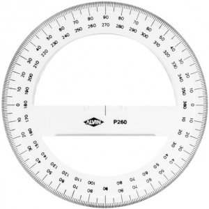 Alvin Circular Protractor, 8in (P263) Deal (Large Image)