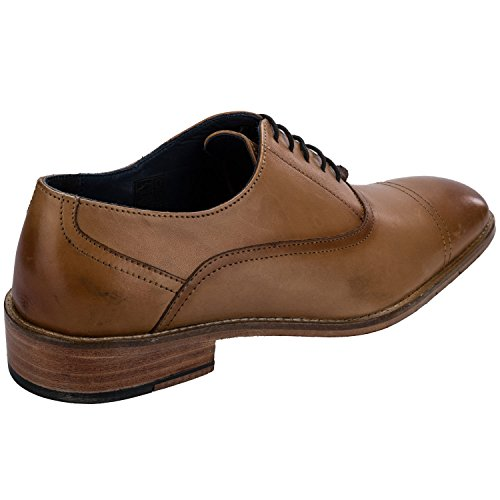 Remus Mens  savino Leather Oxford Shoes Brown kng7Y