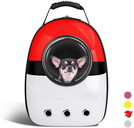 AntTech Breathable Pet Travel Backpack Space Capsule Carrier Bag Hiking Bubble Backpack for Cat Dog Puppy
