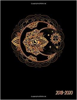 2019-2020: Sacred Geometry Golden Moon Mandala Daily Weekly ...