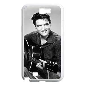 wugdiy Custom Case for Samsung Galaxy Note 2 N7100 with Personalized Design Elvis Presley