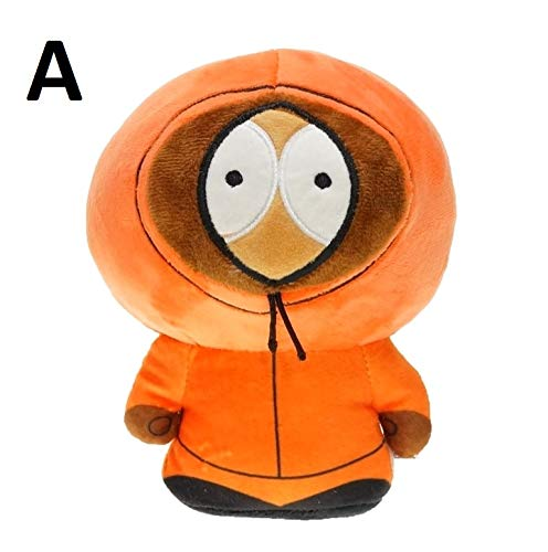 PAPWELL South Park Toys 7.5 inch Eric Stan Kyle Kenny Big Plush Huggable Toy Large Stuffed Gift Collectable Christmas Halloween Birthday Gifts Cute Doll Collectibles New Collectible for Kids (A)