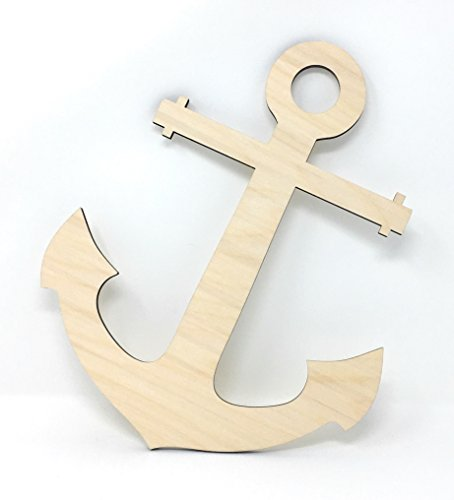 Wood Anchor (Gocutouts Wooden 12