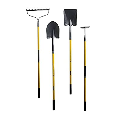 Long Handle Garden Cultivation Tool Combo (4-Piece)