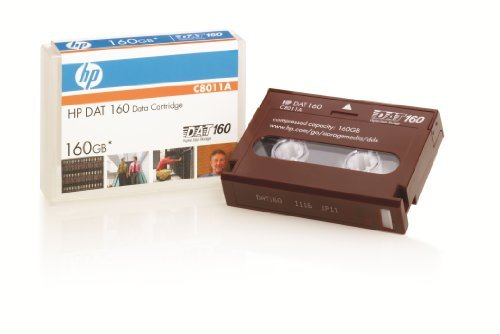 Hewlett Packard Dat160 Tape Cartridge (C8011A), Model: C8011A, Electronic Store & More by Electronics World