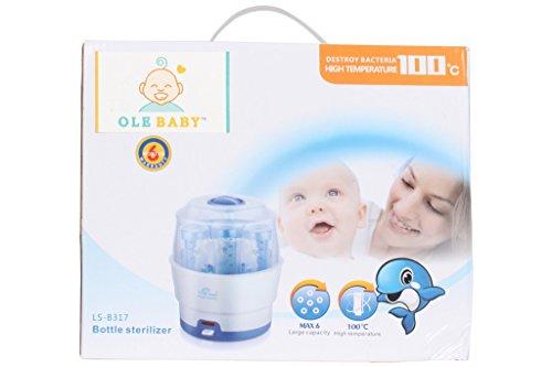 Ole Baby 6 Bottle Electric Steam Sterlizer Cum Food Warmer Cum Heating(250 Ml Each)