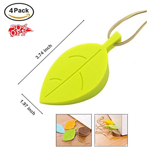 Non-slip Silicone Door Stopper Wedge Christmas Gift...