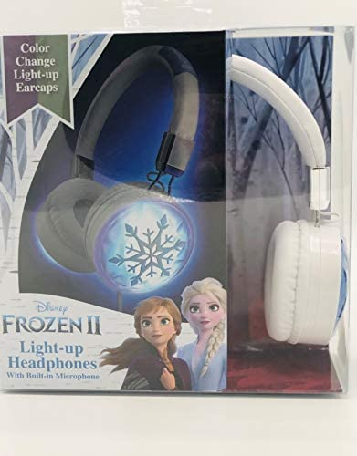 Frozen 2 Light Up Headphones with Built in Microphone