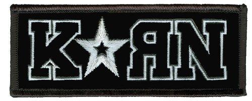 Rock Star Rub (Korn - Star Logo - Embroidered Vinyl Sew On Patch)