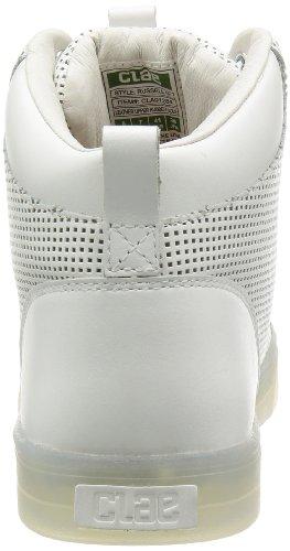 Clae Russell 07 Witte Parel Lederen Schoenen