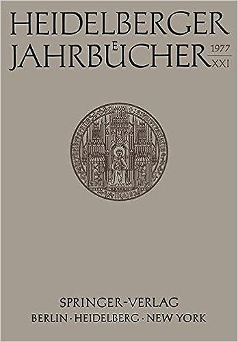 Book Heidelberger Jahrbücher (German Edition)