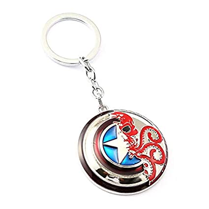 Amazon.com: Mct12 - MS Jewelry Captain America V HYDRA Key ...